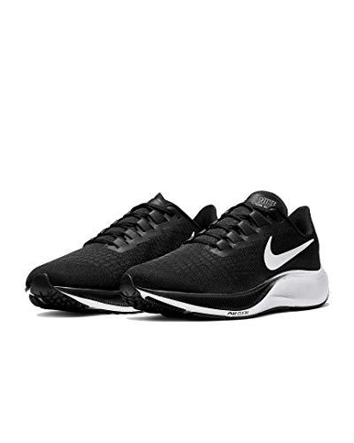 Nike Air Zoom Pegasus 37 - Zapatillas deportivas, color Negro, talla 43 EU