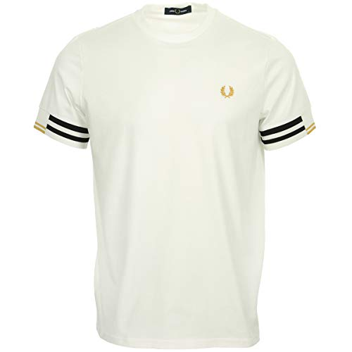 Fred Perry Abstract Cuff T shirt, Maglietta - XS
