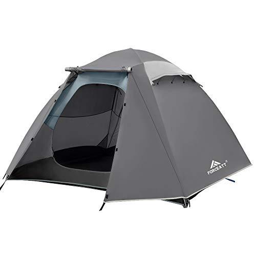 Forceatt Zelt 4 Personen Camping Wasserdicht 3-4...