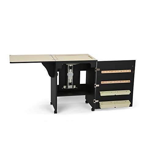 Arrow Cabinet 98503 Sewnatra Sewing Cabinet, Black