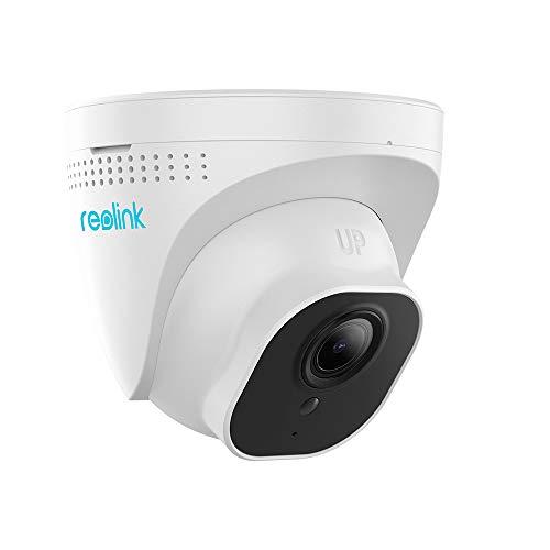 Reolink 5MP Super HD Telecamera IP PoE Esterno con 3X Zoom Ottico, Videocamera Sorveglianza Interno PoE Supporta l'Audio, Visione Notturna IR, IP66 Impermeabile e Slot per Scheda SD, RLC-522