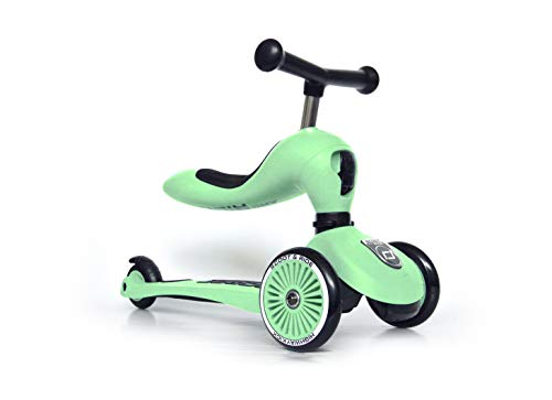 Highway Kick 1 - Scoot & Ride 2-in-1 Kickboard mit Sitz (Kiwi)