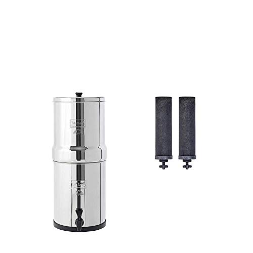 Travel Berkey Gravity-Fed Water Filter with 2...