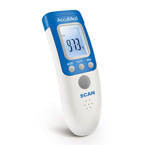 AccuMed AT2102 Non-Contact, Instant-Read Handheld Infrared Medical Thermometer