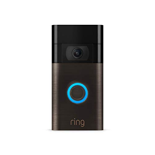 Ring Video Doorbell – newest generation, 2020 release – 1080p HD video, improved motion detection, easy...