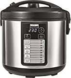 Bella Pro Series 20-Cup Rice Cooker (Stainless Steel)