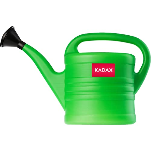 KADAX Arrosoir de Jardin en Plastique pour Intérieur et Extérieur, Arroser Fleurs, Plantes d'intérieur, Arrosage, Arrosoir avec Poignée Confortable (5L)