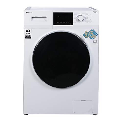 Koryo 8Kg/5Kg Inverter Front Loading Washer Dryer (KWMD1485FLD, White)