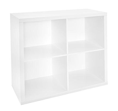 ClosetMaid 1108, 4 Cube, White