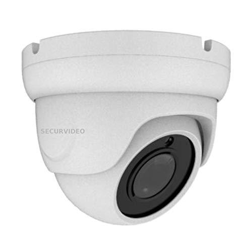 Telecamera Dome Turret Videosorveglianza HD 5MPX Ottica Motorizzata 2.7-13,5mm, Zoom 5X Autofocus, Ibrida 4IN1 AHD/TVI/CVI/CVBS,