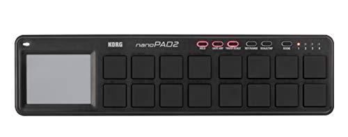 Korg Nano Pad 2 black drum controller midi per DJ pc mac
