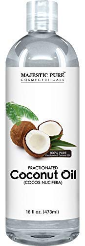 Majestic Pure Fractionated Coconut Oil, For Aromatherapy...