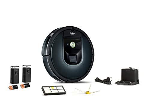 31HXv7igo5L [SUPER Bon Plan] iRobot Roomba 981, aspirateur robot, idéal pour les tapis avec forte puissance d'aspiration