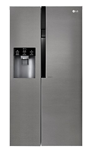 LG GSL360ICEZ Freestanding 591L A++ Stainless steel side-by-side refrigerator - Side-By-Side...