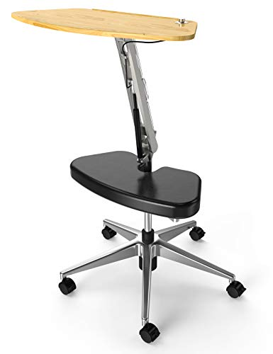 RoomyRoc Mobile Laptop Desk/Cart/Stand with...