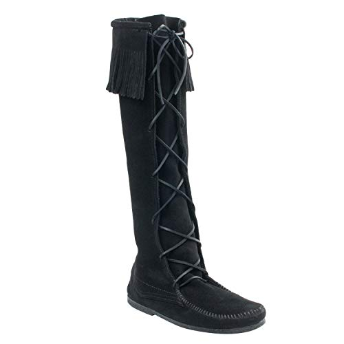 Minnetonka Men's Front Lace Knee High Boot