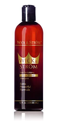 Anti Hair Loss Shampoo - Wick & Strom (Caffeine, Biotin, Saw...