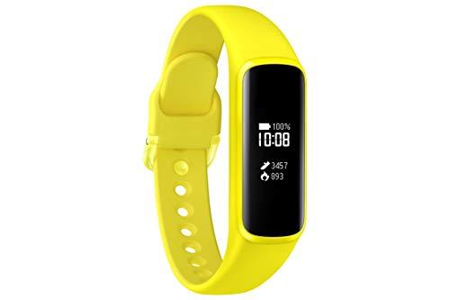 Samsung Galaxy Fit e, Fitnesstracker, gelb, mit Bluetooth, Pulsmesser und...