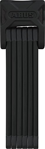 ABUS Faltschloss Bordo 6000/90 mit Halterung - Fahrradschloss aus gehärtetem Stahl - Sicherheitslevel 10 - 90 cm - 72983 - Schwarz