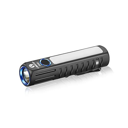 LuminTop EDC05C 14500 Battery(Not included)Micro USB Rechargeable Dual Flash lights 500lm Cree LED Torch Lights with Magnetic Tail Cap