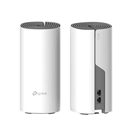 TP-Link Deco E4 Whole Home Mesh Wi-Fi System, Seamless Roaming and Speedy (AC1200), Work with Amazon...
