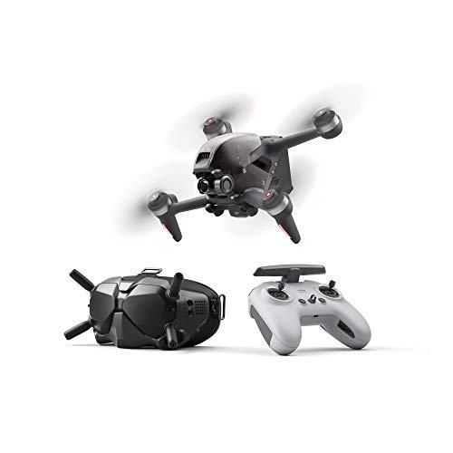 DJI FPV Combo con Care Refresh con Controller di Movimento, Drone Quadricottero UAV con Visuale in Prima Persona con Fotocamera 4K, Modalit di Volo S, FOV Ampio 150, Trasmissione HD a Bassa Latenza