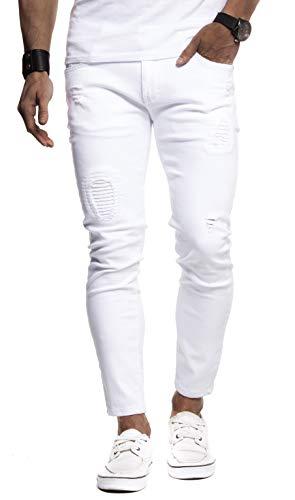 Leif Nelson Herren Jeans-Hose Slim Fit Moderne Denim Freizeithose für...