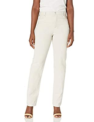 STYLE: Classic high rise taper jean sits at natural waist with functional pockets, easy zipper fly and belt loops for the fit you love. VERSATILITY: Goes great with all tops from fashionable to basic T-shirts and all footwear from stylish boots to yo...