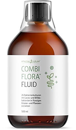 Combi Flora Fluid von effective nature - wertvolle Kräutermischung, 100% natürliche Inhaltsstoffe, Vielseitig einsetzbar, 500 ml