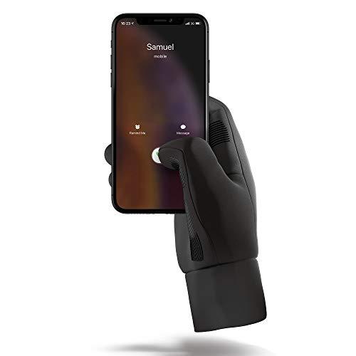 Mujjo Guanti Touchscreen per lInverno con 3M Thinsulate | Guanti Touch Screen per Uomo, Donna |...