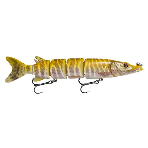 Savage Gear 3D HARD PIKE 20 cm 59 g  Swimbait per la pesca del luccio, esca artificiale per luccio, colore: Albino Pike