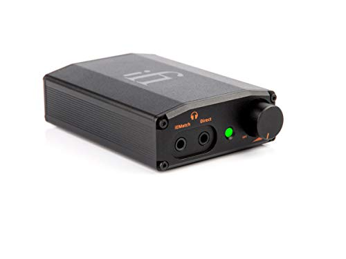 iFi Nano iDSD Black Label Portable USB DAC and Headphone Amplifier with MQA and DSD. Use with Smartphones/Digital Audio Players/Tablets/Laptops - Headphone Upgrade