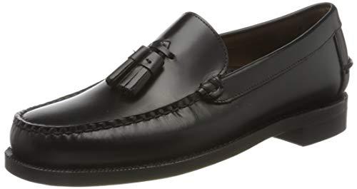 Sebago Classic Will, Mocasines (Loafer) Hombre, Negro (Black 902), 40 EU