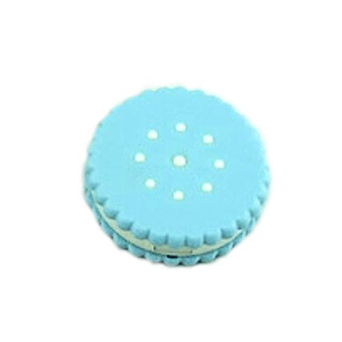 HFNJLOMU Occhiali Caso Cute Cartoon Cookies Forma a forma di lente a contatto Custodia Lovely Mini...