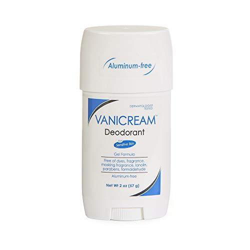 Vanicream Aluminum-Free Deodorant   Gel Formula   Fragrance and Gluten Free   For Sensitive Skin   2 Ounce