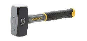 Stanley STHT0-54128 massette - manche en Fibre de Verre - manche bi-matière plus Confortable - Grip pour une meilleure Prise en main - Liaison epoxy de la Tête 1,5 kg Gris