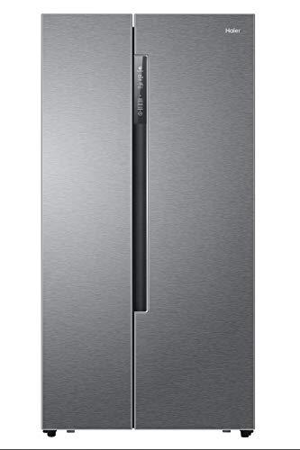 Haier HRF-522DG7 Freestanding 515L A++ Silver side-by-side refrigerator - Side-By-Side...