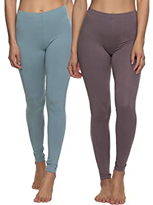 Extra Soft Feel | Made with Velvety Soft peached 4-way stretch fabric that you'll never want to take off. Designed for both work and play, you can wear them from the office to your yoga class with ultimate comfort Fashionable Choice | Felina women's ...