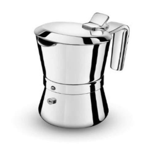 Giannini 3003010 Espressokocher, Edelstahl, Silber