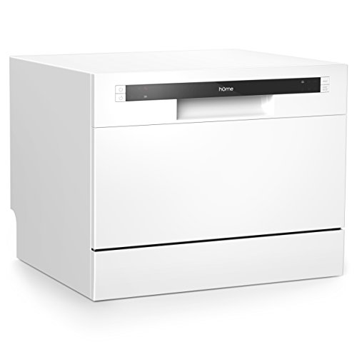 hOmeLabs Compact Countertop Dishwasher - Energy Star Portable...