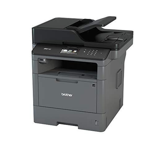 Brother MFCL5700DN Stampante Multifunzione Laser con Fax, Bianco e Nero, Velocit di Stampa 40 ppm, Rete Cablata (no Wi-Fi), Stampa Fronte/Retro Automatica, Display Touchscreen a Colori da 9.3 cm