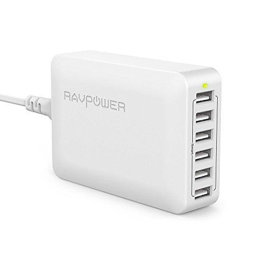 RAVPOWER Cargador USB(Universal-Serial-Bus) 60W...