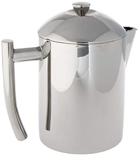 Frieling USA 18/10 Stainless Steel Tea Maker with Infuser Basket, 20-Ounce