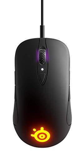 SteelSeries Sensei Ten – Souris de gaming – Capteur optique TrueMove Pro 18000CPI – Design ambidextre – 8 boutons programmables