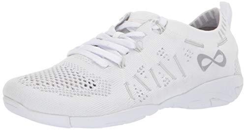 Nfinity Flyte Cheer Stunt Shoe Sneaker, White, 9.5 Regular US