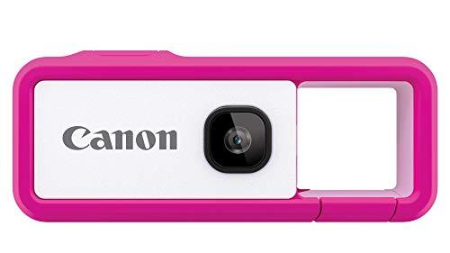 Canon キヤノン iNSPiC REC PINK ピンク 小型 防水 耐久 身につけるカメラ FV-100 PINK