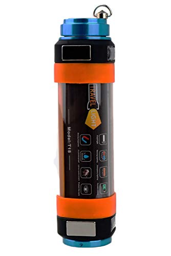 CyberDyer Lampe de camping LED rechargeable par USB, lampe de poche...