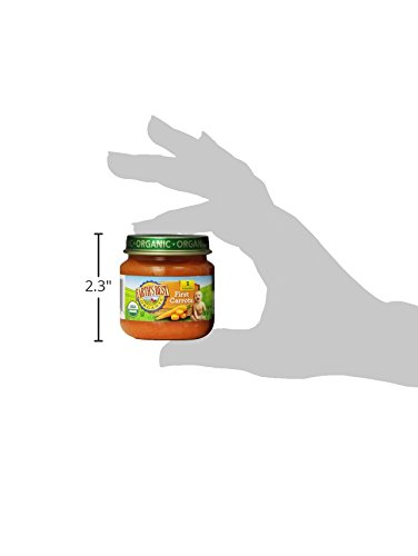 Earths-Best-Organic-Stage-1-Baby-Food-First-Carrots-25-oz-Jar