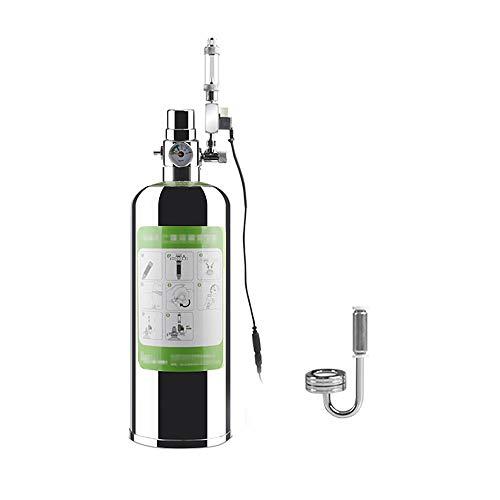 co2 ボンベ CO2拡散器 気泡放出 DIY 発酵式CO2キット 酸素補給 電磁弁・ディフューザ付き 観賞魚水槽用