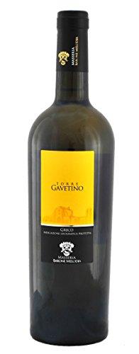 Masseria Barone Melodia Vino Bianco'Torre Gavetino' Greco IGP Puglia 2017-1 bottiglia da 750 ml